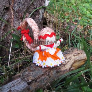 Славянская кукла оберег на счастье