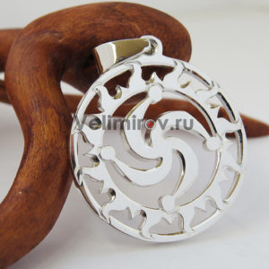 Оберег Символ Рода в солнечном круге