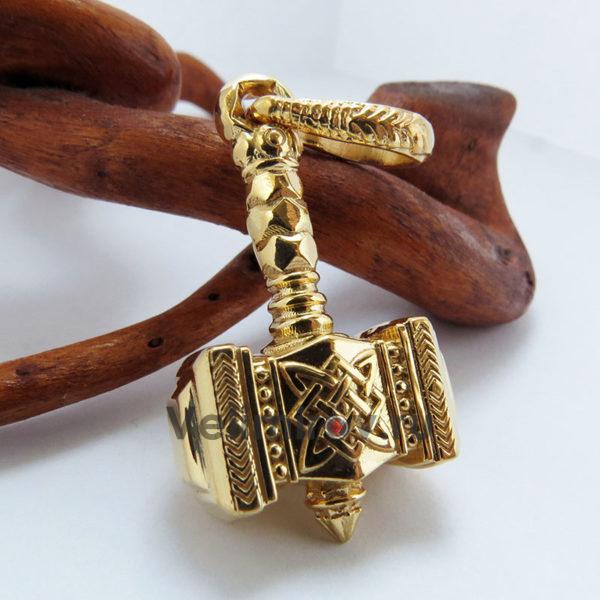 Оберег Молот Сварога из золота